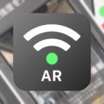 家の中、外でも電波強度を見る事ができるアプリ【AR-WAVE(エーアールウェーブ)】