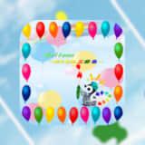 【Balloon~光と色の三原色~『絵の具で色作り』】で色の組み合わせを考えながら風船を割ろう!
