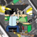 【Doradora Panic(ドラドラパニック)】ドラマーを助ける!ミニアクションゲーム